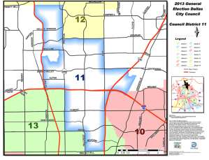 Dallas City Council District 11